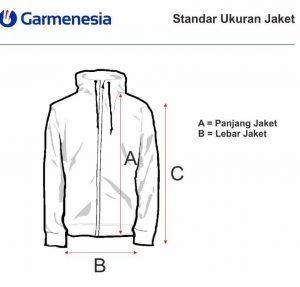 ukuran jaket di konveksi jaket
