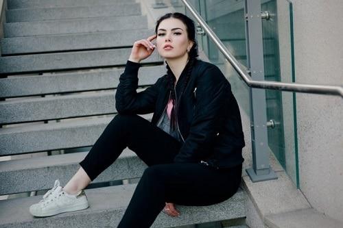 jaket bomber wanita outwear